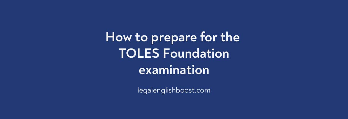 TOLES Foundation examination